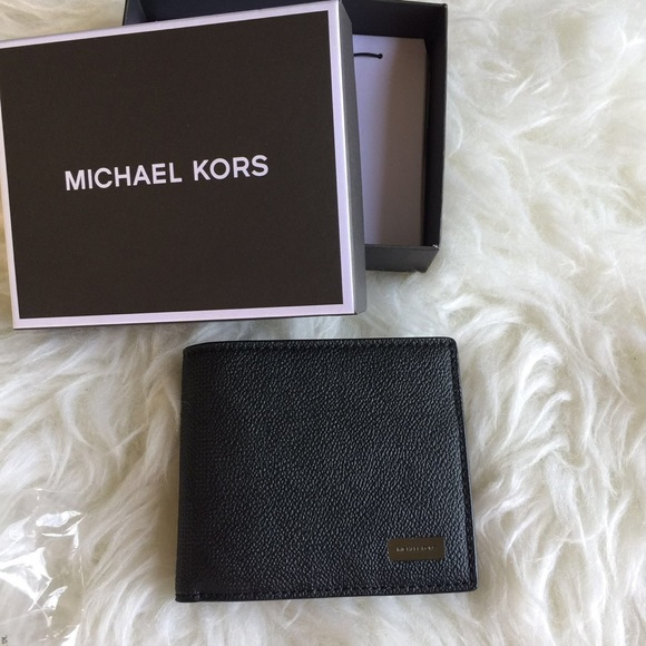 ffdd75c681681 Michael Kors Jet Set Mens Billfold Wallet