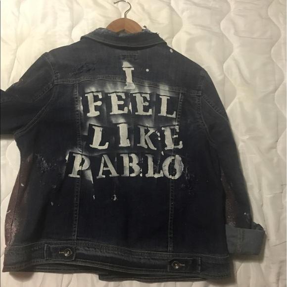 cd10fbdf040 Jackets   Blazers - Custom made Denim Jacket
