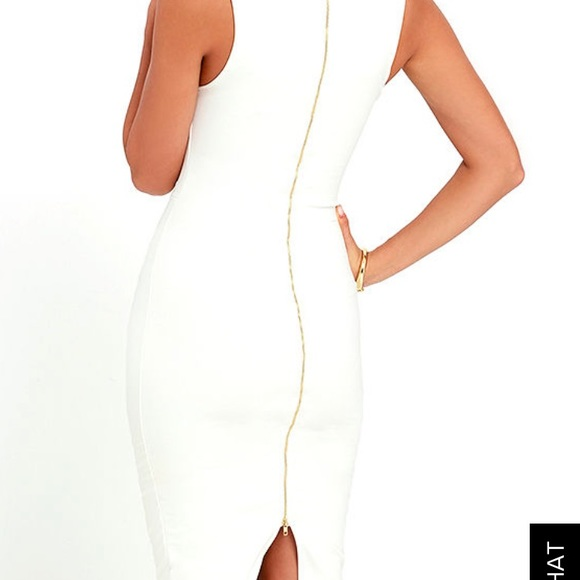 Lm Lulu Dresses & Skirts - White fitted dress