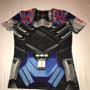 Under Armour Transformers Fitted Shirt Size YXL