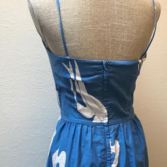 Vintage Dresses - Vintage Dove House/ Sun Dress