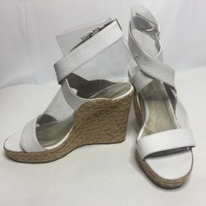 804610c1041d Gibi Collection Shoes - Gibi Collection White Wedges