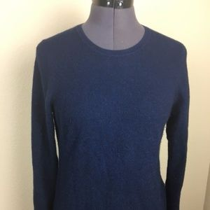 Charter Club Navy Cashmere Sweater