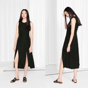 🆕 &OTHER STORIES double slit maxi dress