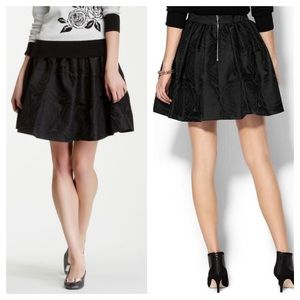 Kate Spade Jaquard Cupcake Skirt NWOT