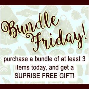 Purchase 3 bundled, FREE GIFT!
