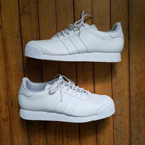 adidas samoa mens white