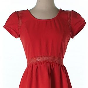 NWOT Urban Outfitters Pins and Needles red dress
