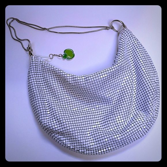 La Regale Handbags - Cool Slouchy Metal Mesh Bag