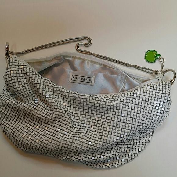 La Regale Bags - Cool Slouchy Metal Mesh Bag