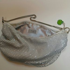 La Regale Bags - Cool Slouchy Metal Mesh Bag