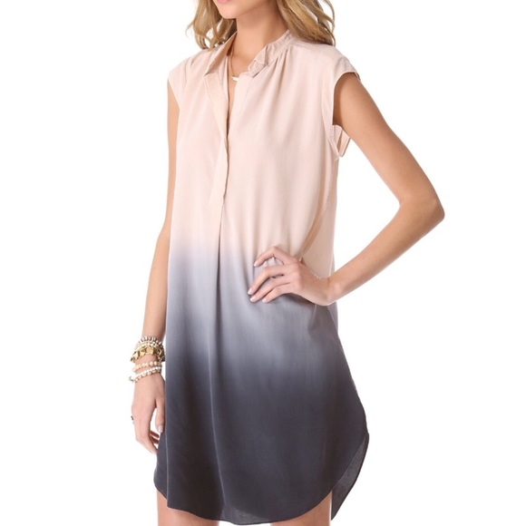 3146efb92c15c Rebecca Taylor Ombré Shirt Dress. M 598dea1b13302ac990086c68