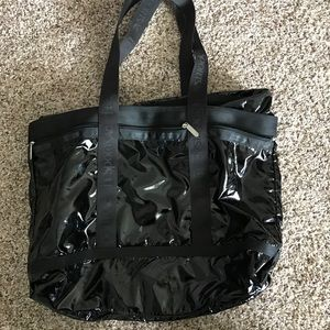 Handbags - Le sports sac black tote bag