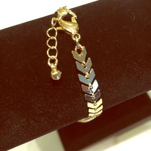 Jewelry - Chevron Ankle Bracelet