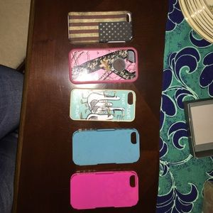 Other - IPHONE 5/5s CASES