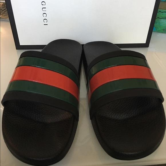 85c9b97a494de3 Gucci pursuit 72 slides size 10.5 men sandals