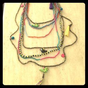 Jewelry - Birds of a feather necklace.