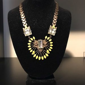 Jewelry - Yellow and Gold Statement Necklace