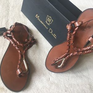 Massimo Dutti 🌼Sandals Leather New