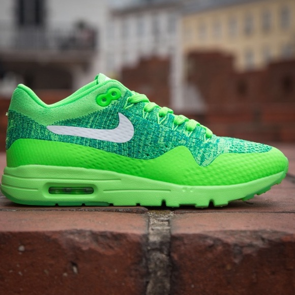 0435f19176334 Nike Air Max 1 Ultra Flyknit women s Green Brazil