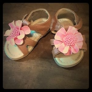 Other - Baby girl's flower sandals