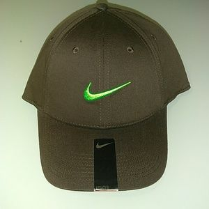 Other - Nike brown green logo all sports hat cap