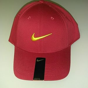 Other - Nike Red yellow logo all sports hat cap