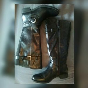 Shoes - Black Knee High Boots