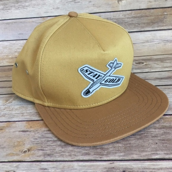 922e896ba28ce Benny Gold Accessories - Benny Gold   Brand new gold Stay Gold hat