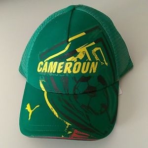 Other - Puma Cameroon soccer hat cap new