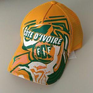 Other - Puma Ivory coast soccer hat cap new