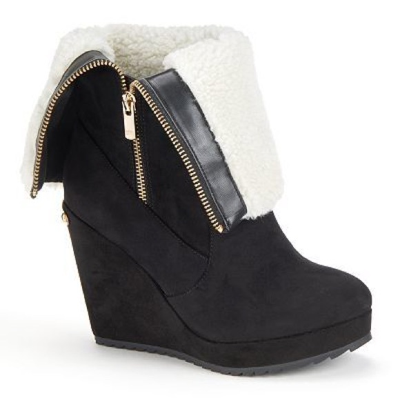 387db949be3 Juicy Couture Shoes - Juicy Couture Kasia Wedge Boots!💋