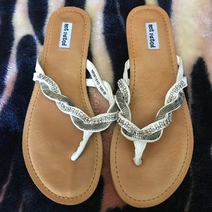 Shoes - Rhinestone sandals 💎