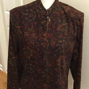 Zipper front Jacket / Top