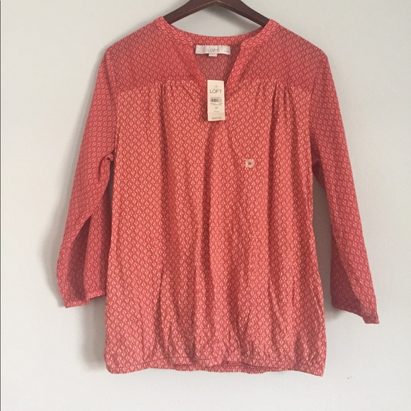 LOFT Tops - NWT LOFT long sleeve shirt size S