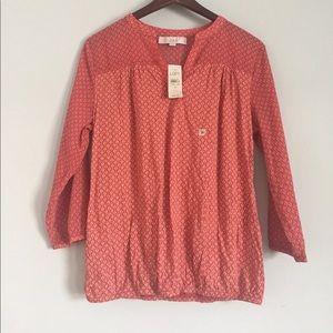 NWT LOFT long sleeve shirt size S