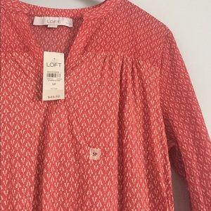 LOFT Tops - NWT LOFT long sleeve shirt size S