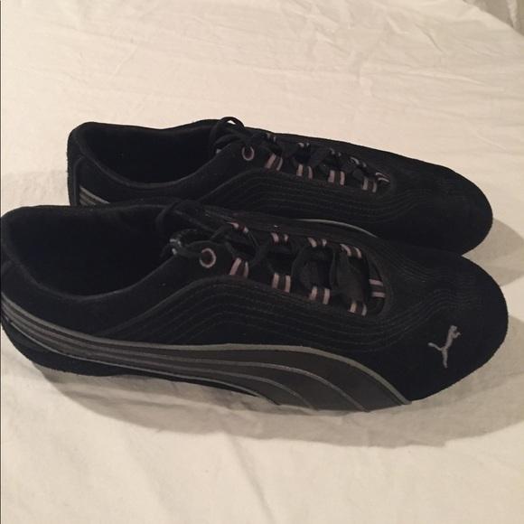 sold worldwide buy best choose best PUMA eco ortholife Soleil V2 Suede Sneaker black
