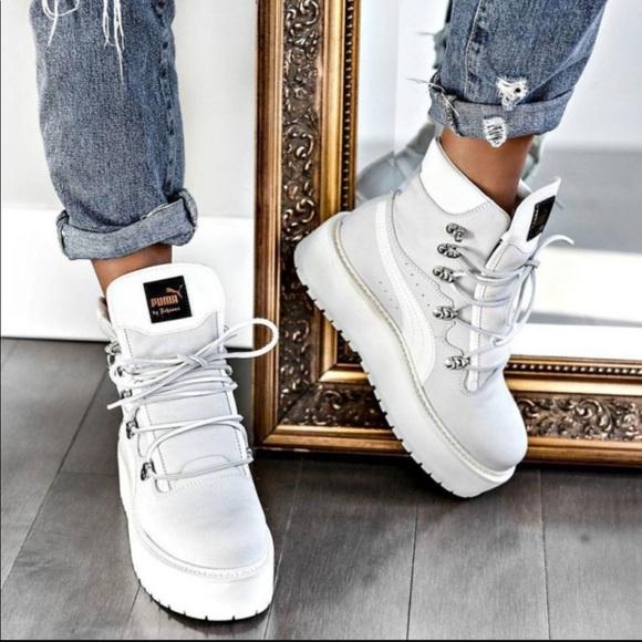 Puma SB White Rihanna Fenty NWT