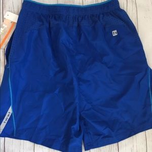 New Hind Men's Athletic Shorts Royal Blue Small