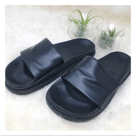 728c1572f4b8 Alexander Wang Shoes - Alexander Wang x H M Leather Slides Mules Sandals