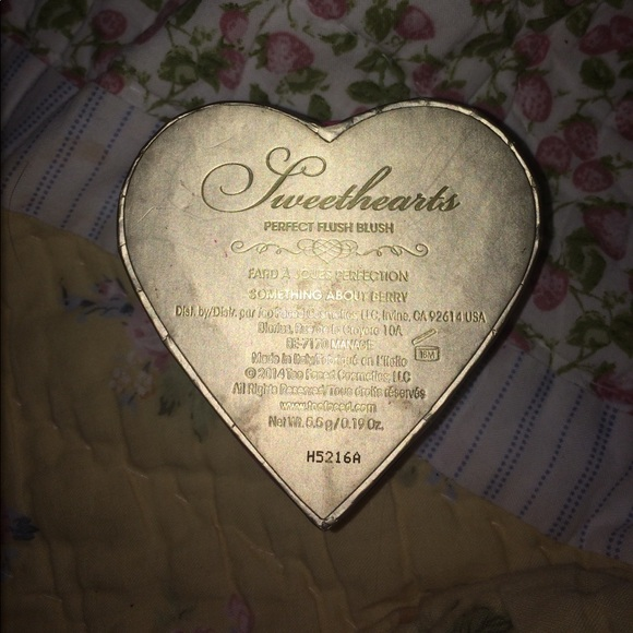 Too Faced Makeup - Too faced sweethearts perfect flush blush high end