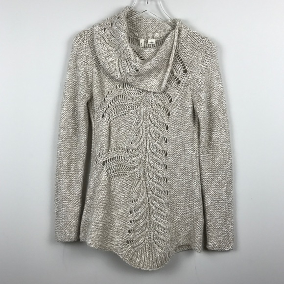 bd8746650a Anthropologie Sweaters -  Anthropologie  Moth Cowl Neck Sweater Tunic Tan S