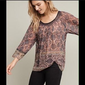 Anthropologie Plenty By Tracy Reece Top