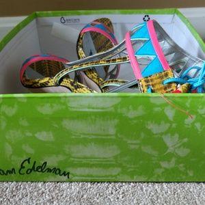 092ad977b448ea Sam Edelman Shoes - 🌸HOST PICK🌸 Sam Edelman Multi Color Sadie Heel