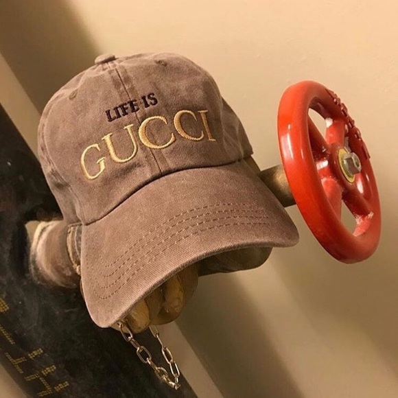 4af692d1 Accessories | Unisex Life Is Gucci Dad Hat | Poshmark