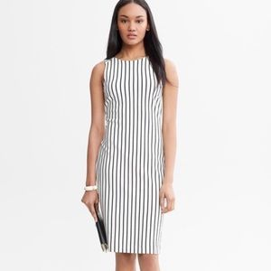 FINAL PRICE | BR Mad Men Striped Bodycon Dress