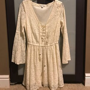 American Eagle Lace Up Dress