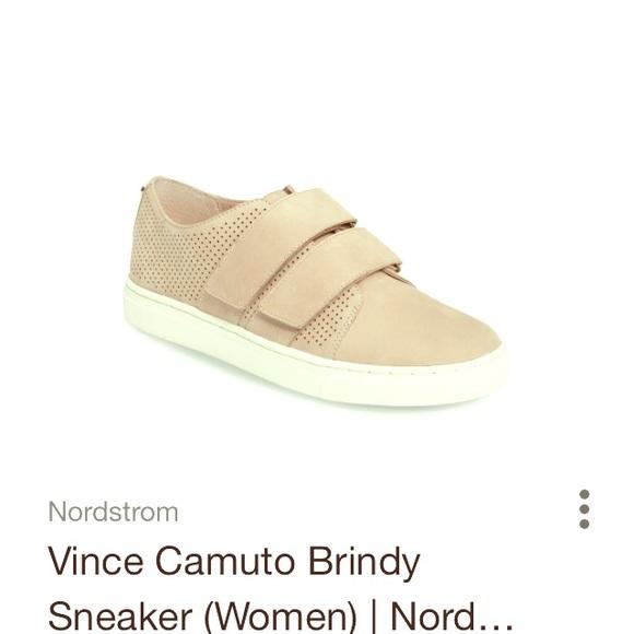 Vince Camino Velcro Suede Sneakers