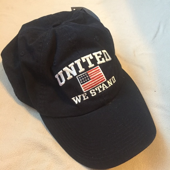 099afbe0560 United We Stand PGA Tour Navy Blue Golf Cap
